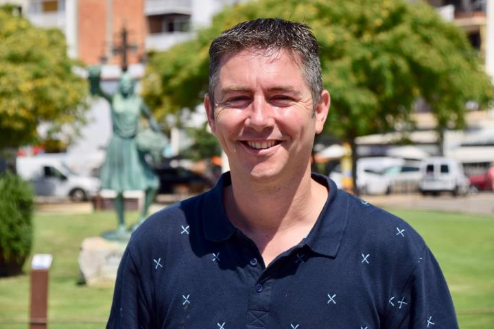 David Martinez, new president of GI Sitges