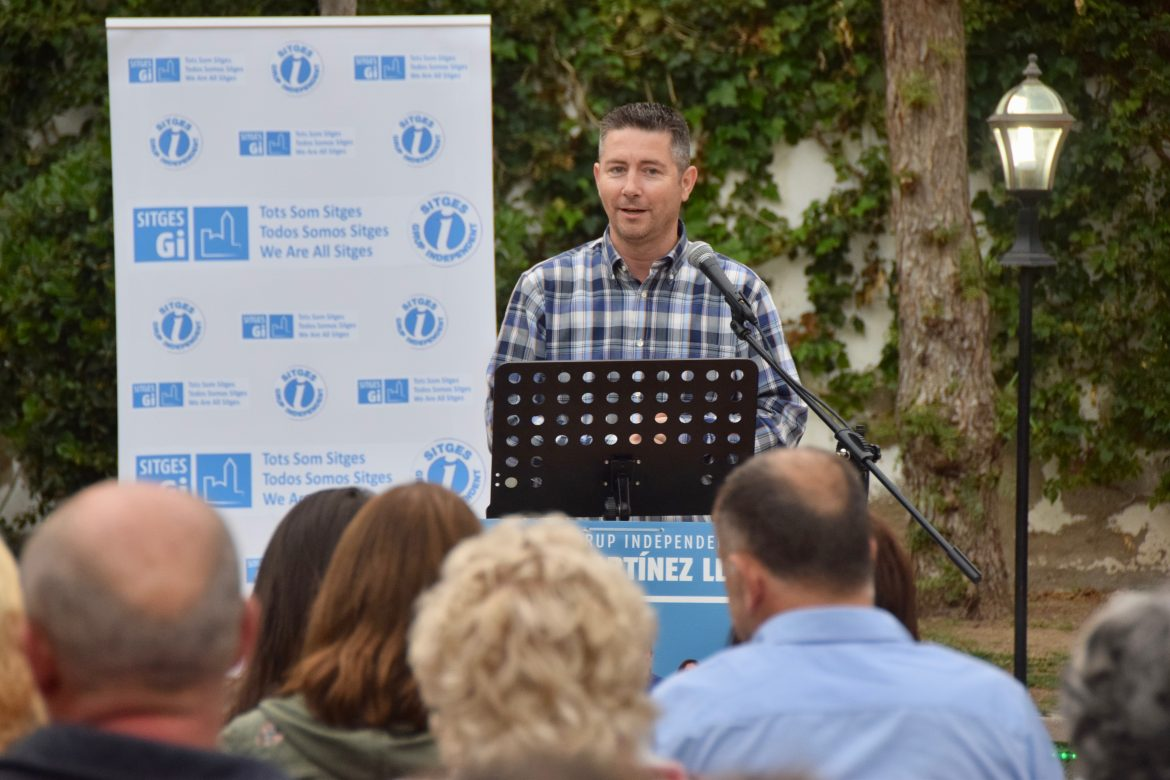 Sitges GI starts the electoral campaign and presents the program